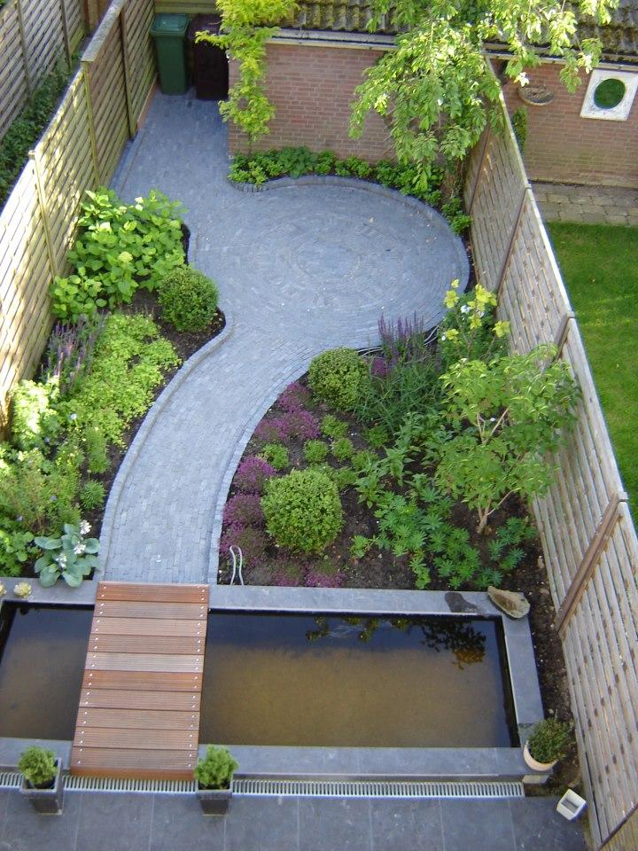 Tuinen den boef tuinen for Moderne tuin aanleggen